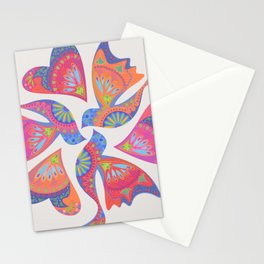 3 Birds Playing Stationery Cards