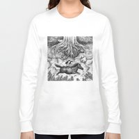 sisters Long Sleeve T-shirts featuring Sisters by Ulrika Kestere