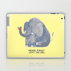 Elephant never forgets Laptop & iPad Skin