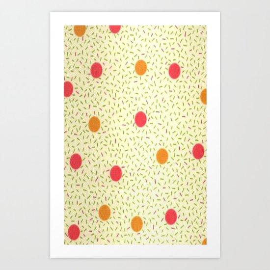 Sprinkles & Dots Art Print