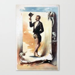 Vintage poster Canvas Print