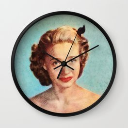 Jane Powell, Actress Wall Clock