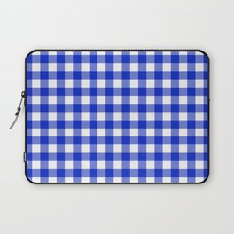 Plaid (blue/white) Laptop Sleeve