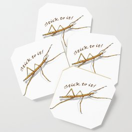 Stick to It! Walking stick Coaster
