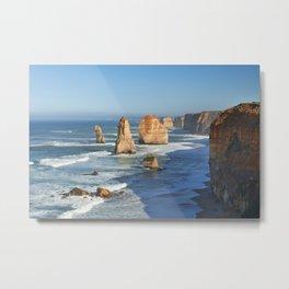 III - Twelve Apostles on the Great Ocean Road, Australia Metal Print