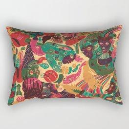 Sense Improvisation Rectangular Pillow