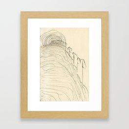 September Mirage Framed Art Print