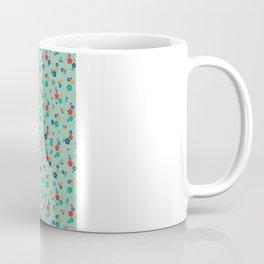 blossom ditsy in grayed jade Coffee Mug