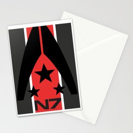 N7 MASS EFFECT Stationery Cards
