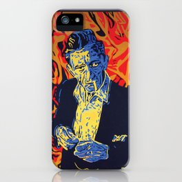 Johnny Cash iPhone Case