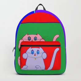 A Pop Art Kitty Backpack