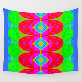 Summer Abstract Pattern I Wall Tapestry