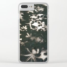 Leafy Shadows and Light Clear iPhone Case