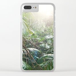 The Daintree Rainforest Clear iPhone Case