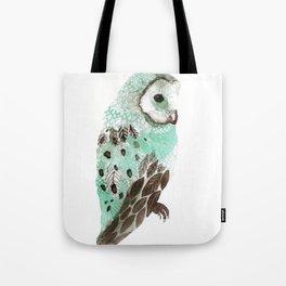Watercolour Owl Tote Bag