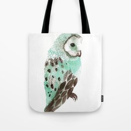 Watercolour Owl Tote Bag