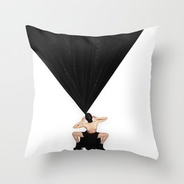 El Negro de Maya #4 Throw Pillow