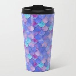 Purple Mermaid Scales Travel Mug