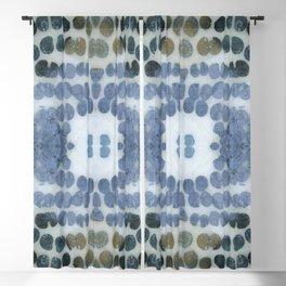 Sea Shell Disco Powder Blue Blackout Curtain