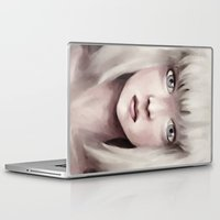 chandelier Laptop & iPad Skins featuring Chandelier by Carolina Valtuille