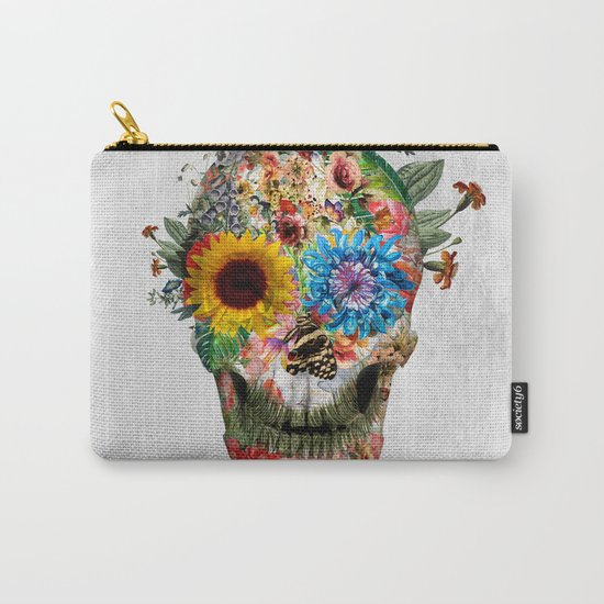 Skull - Punks Not Dead II Carry-All Pouch
