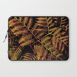 Peachy Yellow Bracken Laptop Sleeve