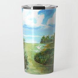 Marsh Birds Travel Mug