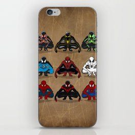 Spider-man - The Year of the Costumes iPhone Skin
