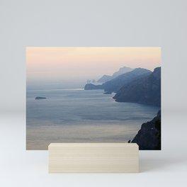 Seascape Amalfi Coast Italy Mini Art Print