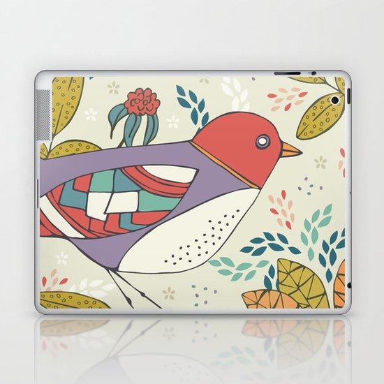 Bird and Butterfly  Laptop & iPad Skin