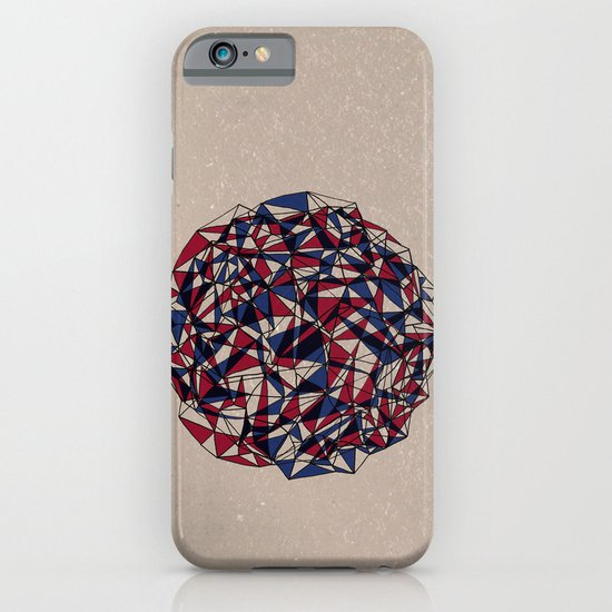 - red blue - iPhone & iPod Case