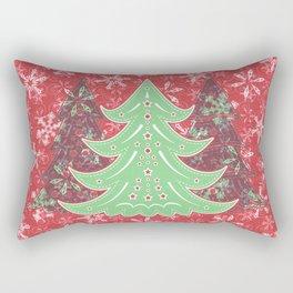Xmastrees_05a Rectangular Pillow