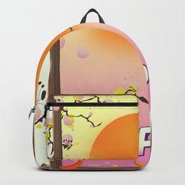 Japan Blossom Garden Backpack