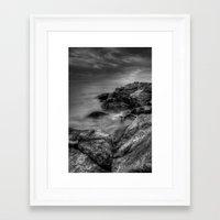 rush Framed Art Prints featuring Rush by Mark Alder