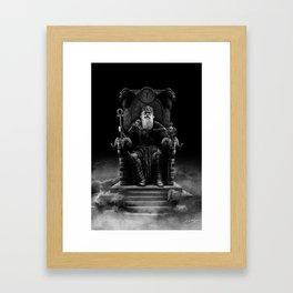 IV. The Emperor (Version III) Framed Art Print