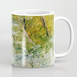 River Bank in Springtime Coffee Mug
