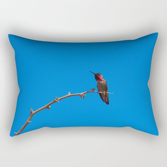 Beautiful Hummer - II Rectangular Pillow