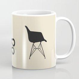 Iconic Chairs Abstract  Coffee Mug