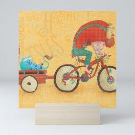 Bunyan's Day Out Mini Art Print