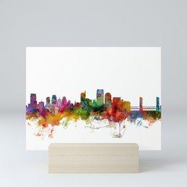 Sacramento California Skyline Mini Art Print
