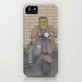 Frankenstein Scooter iPhone Case