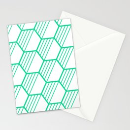 LYLA ((emerald green)) Stationery Cards
