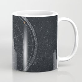 Vintage Cosmos: Hayley's Comet 1835 Coffee Mug