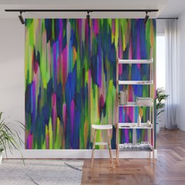 Colorful digital art splashing G256 Wall Mural