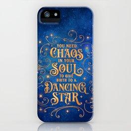 Dancing Star iPhone Case