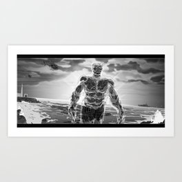72 Precent Water Art Print