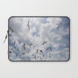 Seagulls in Flight Laptop Sleeve