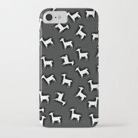 lama iPhone & iPod Cases featuring LAMA by Monika Strigel