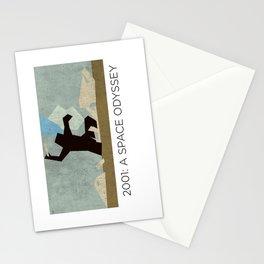 Minimalist 2001: A space odyssey (2) Stationery Cards