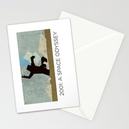 Minimalist 2001: A space odyssey (2) Stationery Cards
